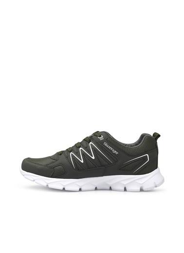 Slazenger Erkek Kronos Sneakers SA10RE220 Haki